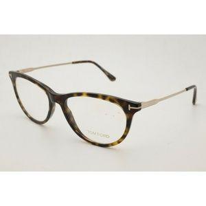 New Tom Ford TF 5509 Eyeglasses 052 Dark Havana